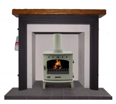 Britain`s Heritage repro  cast iron stove surround