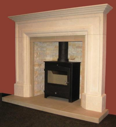 Wolsey Limestone Reproduction Surround
