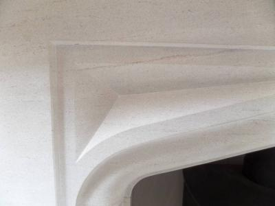 The BOSCOMBE Shelthorpe Limestone Surround
