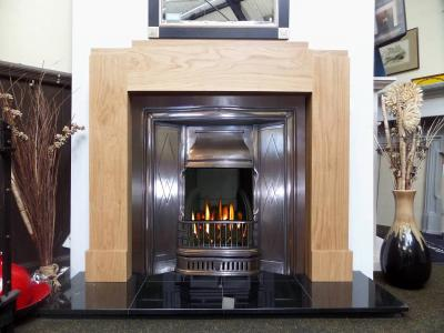 1930s oak surround reproduction