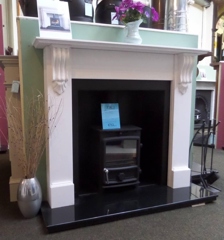 Buy Online Agean Limestone Mantel Fireplace Surround