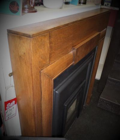 art deco stove surround