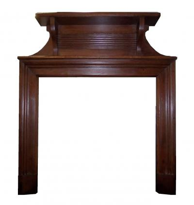 1940`s wood fire surround