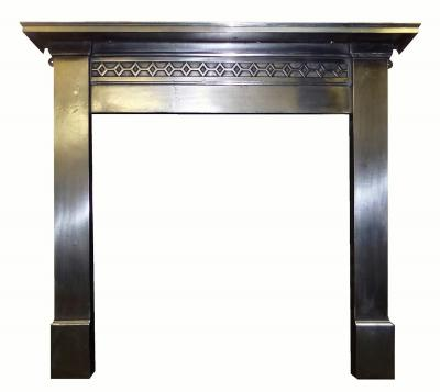 Britain`s Heritage Antique 1920 cast iron stove surround