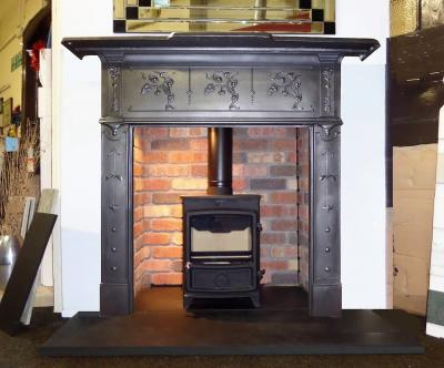britains heritage cast iron victorian fireplacesurround