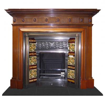 antique mantel surround