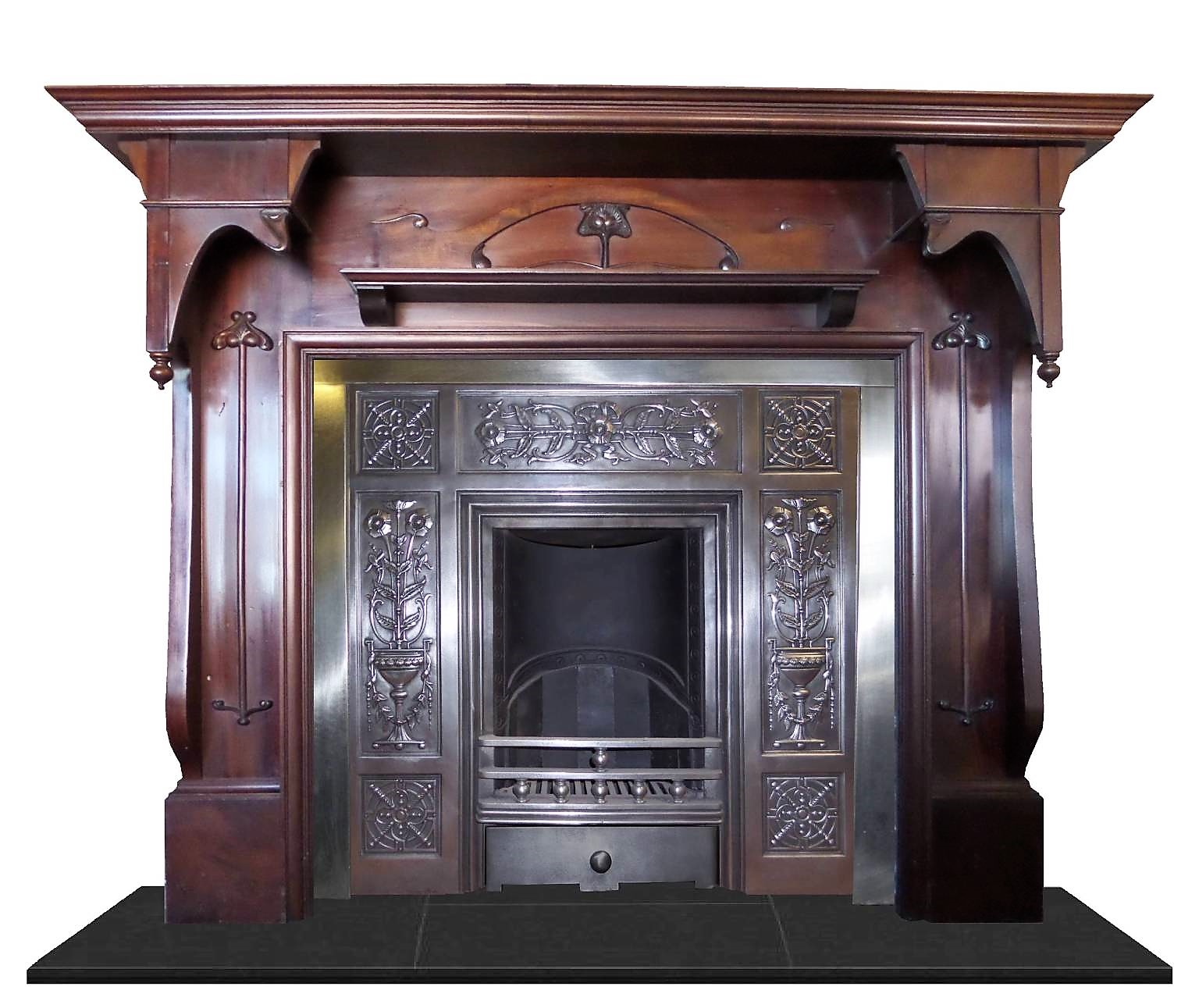 Buy Online Antique Large Mahogany Art Nouveau Wood