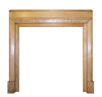 Antique 1930s Oak Surround