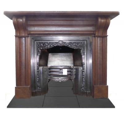 Antique Georgian Walnut Surround