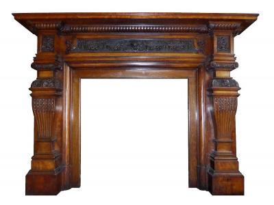 britain`s heritage regency walnut surround