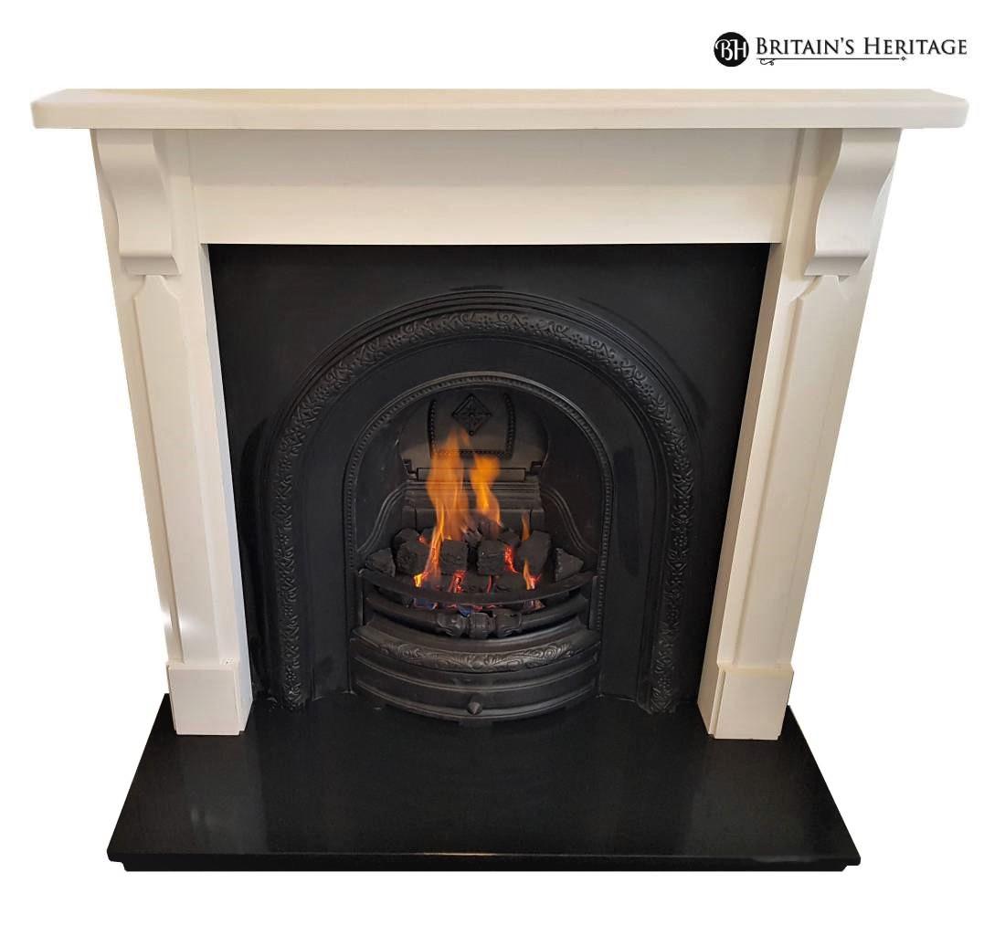 Buy Online Bristol Corbel Pine Mantel Fireplace Surround