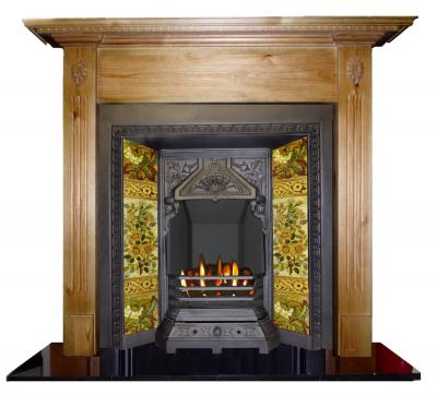britainsheritage floret pine surround