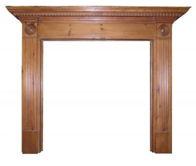 georgian wood surround