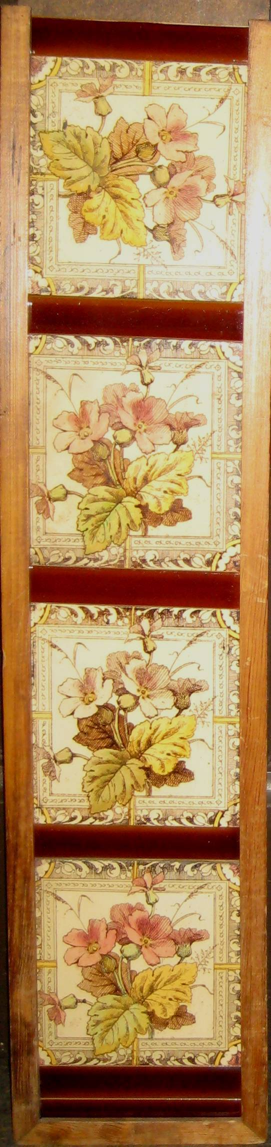 Antique Leaf Tile Set