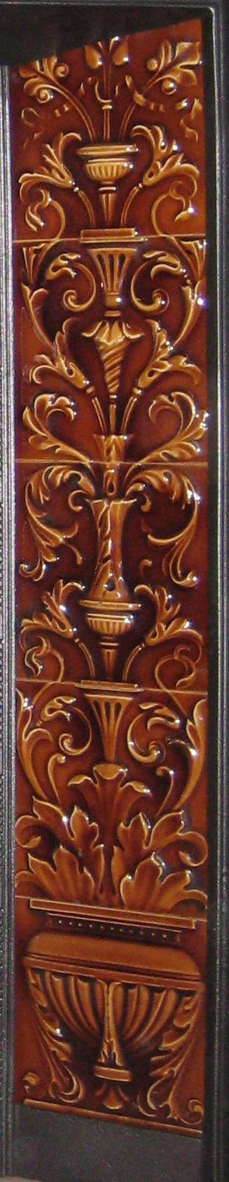 Antique Embossed Tile Set
