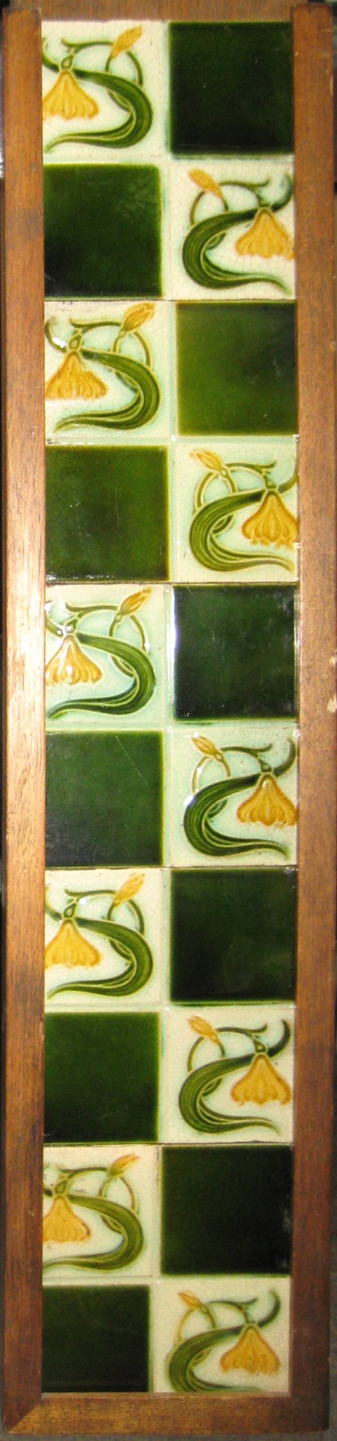 Antique Nouveau Tile Set