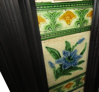 victorian-fireplace tiles
