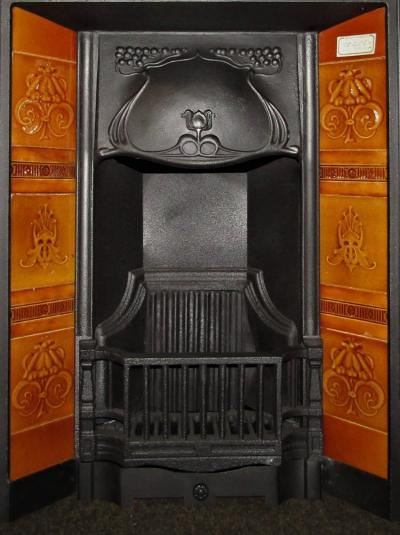 EDWARDIAN FIREPLACE