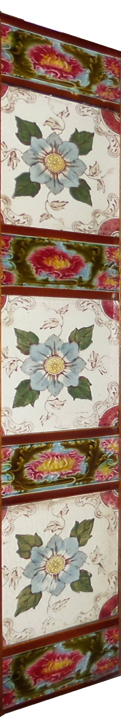 antique tile set